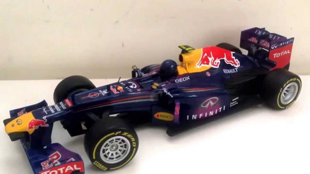 Red Bull RB9 2013 Mark Webber Maisto 1 18 scale RC car 1 18 - YouTube b3f6c3b89ca8c