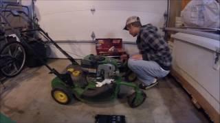 How to Clean a Mower Carburetor (John Deere JS40 Part 2)