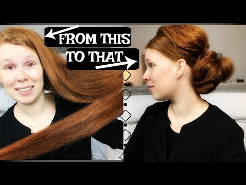 MY EVERYDAY UP-DO// VERY LONG THICK HAIR TUTORIAL// APOSTOLIC