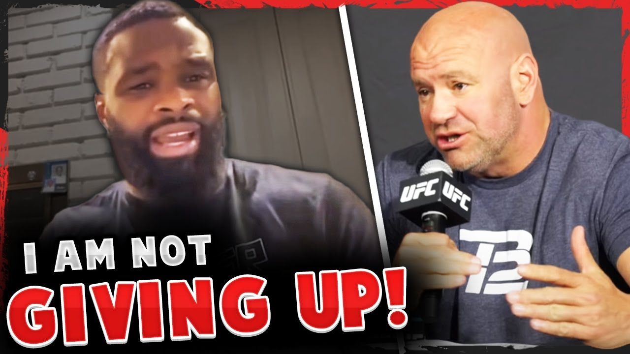Tyron Woodley responds to Dana White saying he should retire, Michael Chandler on how to beat Khabib