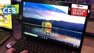 CES 2019 - Auf Knopfdruck dunkel: PrivacyGuard von Lenovo im Thinkpad T480-s!