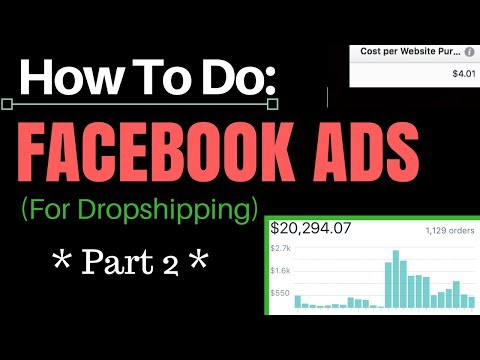 How To Do Facebook Ads For Shopify (Part 2 - Building The Campaign)