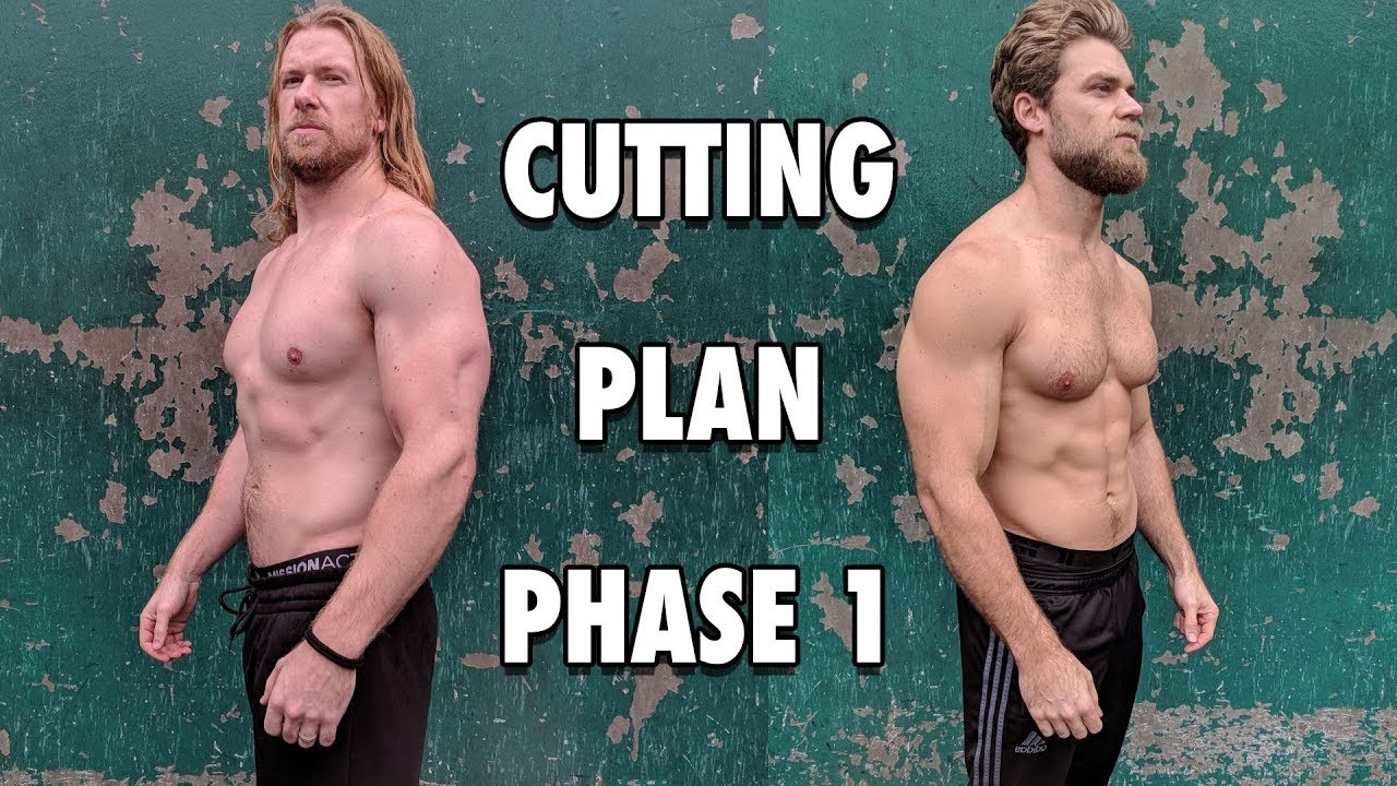 Cutting program weight lifting