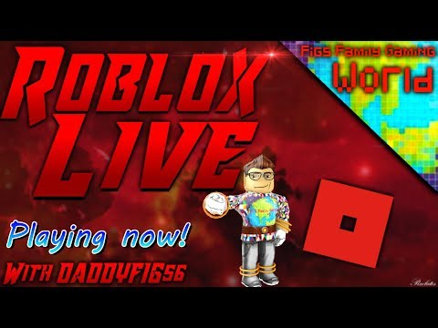 Roblox Wednesdays! | Live Stream #37 | Roblox | Playing with Viewers! Figster Coin Exchange!
