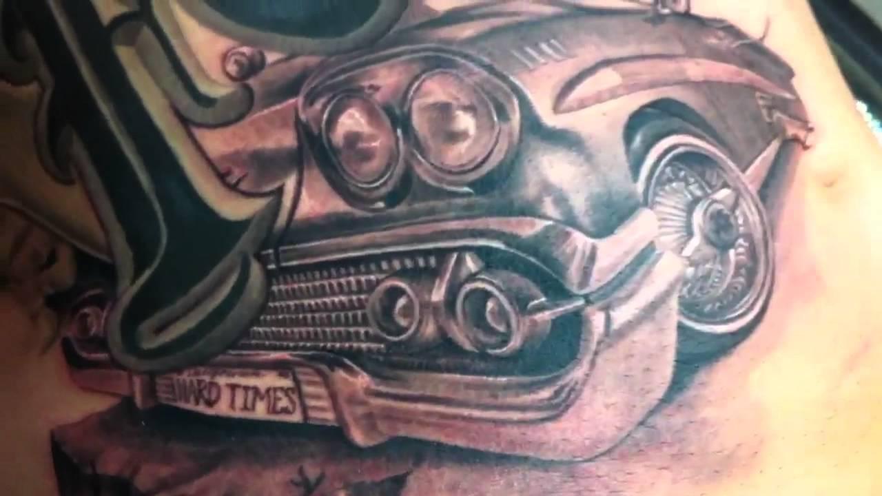 Placaso Tattooon 1958 Chevy Impala