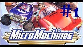 MicroMachines [SEGA] - Угарный турнир с Пашком и Саньком #1