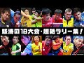 怒涛の18大会・超絶ラリー集!【卓球ジャパン!AWARDS 第2弾】