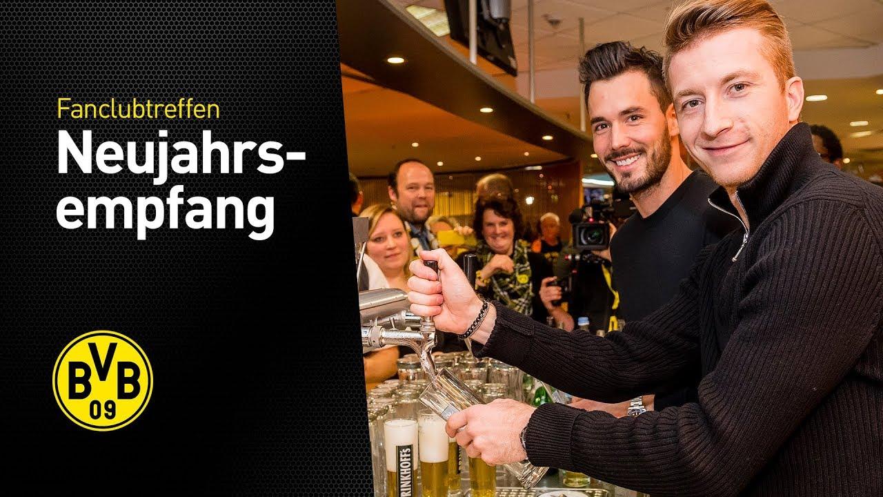 Reus, Bürki und Co. am Zapfhahn   Alles vom BVB-Fanclub-Neujahrsempfang 2018
