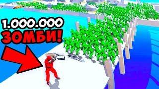1 СОЛДАТ VS 1.000.000 ЗОМБИ В RAVENFIELD! БИТВА СОЛДАТИКОВ ПРОТИВ ЗОМБИ В РЕВЕНФИЛД! РАВЕНФИЛД!