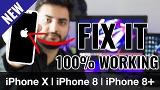 How to Fix iPhone X / XS/ XR / 8 / 8 Plus Stuck on Apple Logo | Endless Reboot Problem
