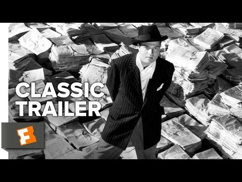Citizen Kane (1941) Official Trailer #1 - Orson Welles Movie