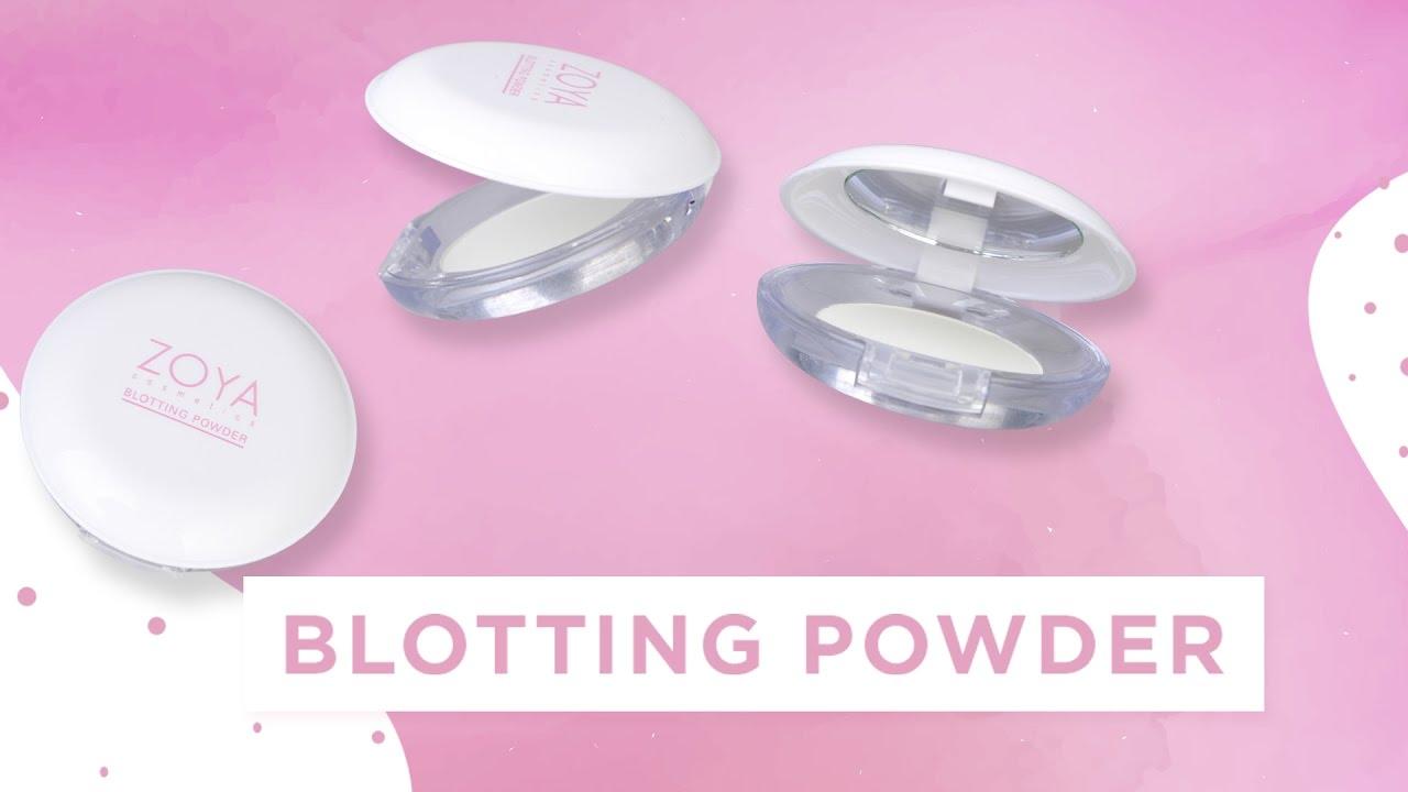 Zoya Cosmetics Blotting Powder Youtube Volumizer Lash Mascara