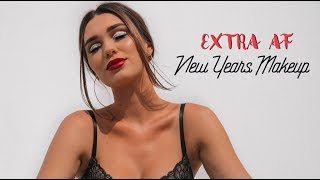 Extra AF DRUGSTORE New Years/Festive Makeup | Chit Chat GRWM!