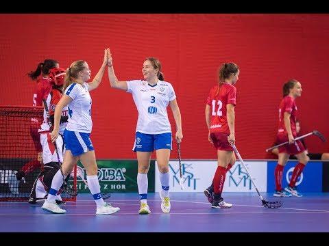 Maalikooste: Sveitsi–Suomi 6–10 (naiset)