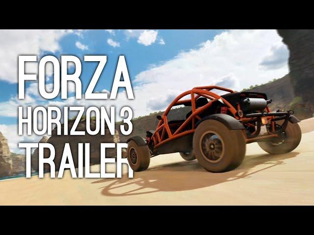 Forza Horizon 3 Trailer Revealed At E3 2016