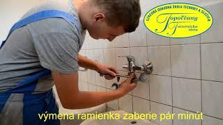 Ako vymeniť ramienko na vodovodnej batérii
