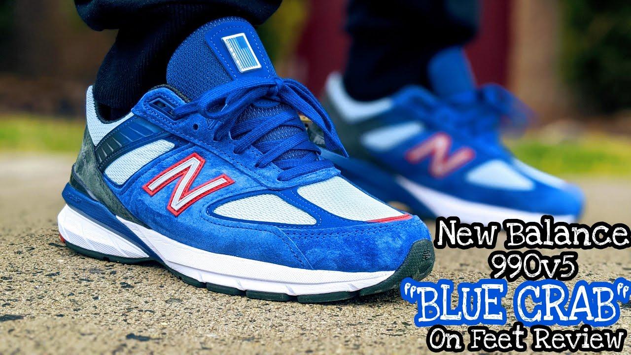 new balance blue