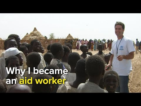 Why I became an aid worker - Adem Shaqiri, UNHCR Field Officer, Yemen