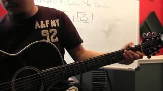 Tự học guitar căn bản bài 14( Love Me Tender, complete)
