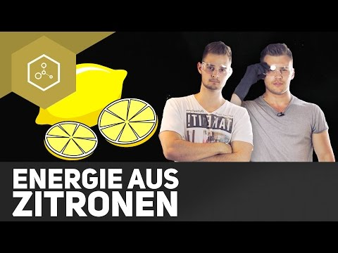 Energie aus der Zitrone - Nicht nur für den Tequila