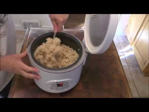 the larger rice cookers have wattage