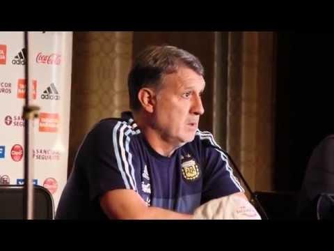 El técnico Gerardo Martino selección de Argentina