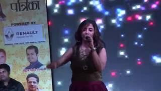 Thar Mata Thar - Singer Jyoti Mainy -  5th April 2016 At Raipur Chhattisgarh