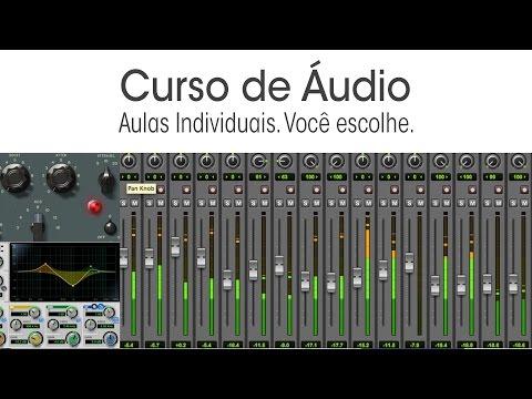 Curso de Áudio em Brasília - Aulas individuais.