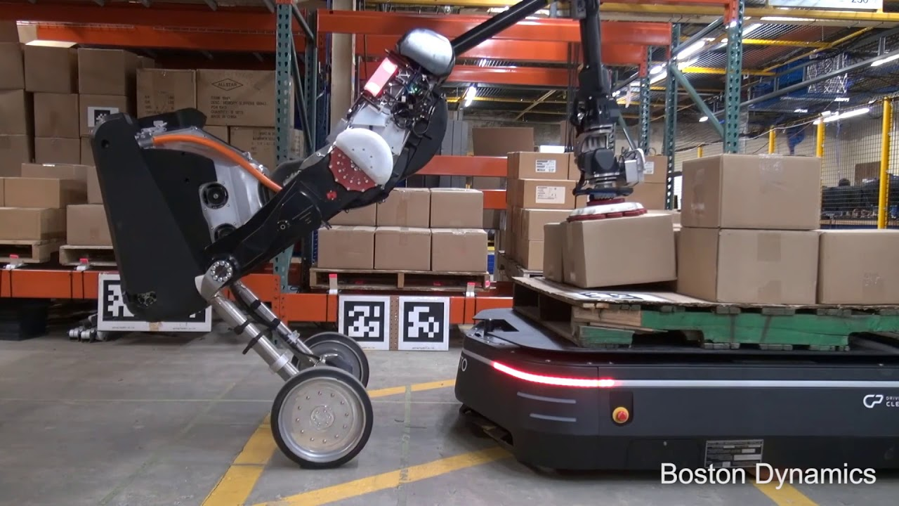 Boston Dynamics New Warehouse Robots (Handle + Otto Integration)