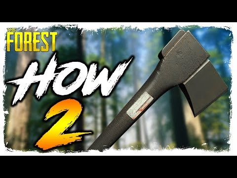 The Forest | HOW TO FIND THE MODERN AXE | Updated Location