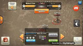 Clash of clans (Ataque de corredor)
