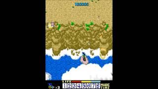 NINJA EMAKI (arcade gameplay)