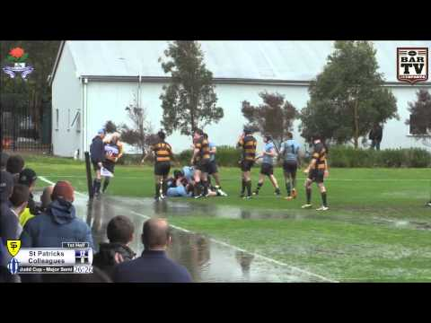 2014 NSW Suburban Rugby Judd Cup Major Semi Final Highlights - St Patrick's v Colleagues