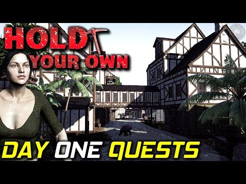 Day One Nailing The Quests | Hold Your Own...