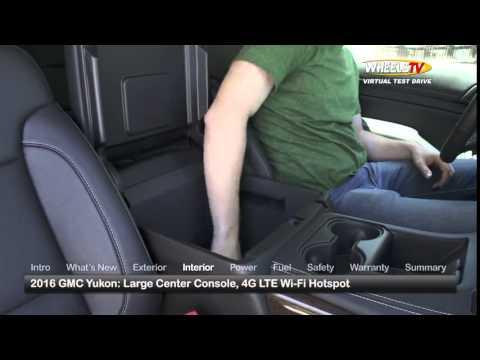 2016 GMC Yukon Test Drive