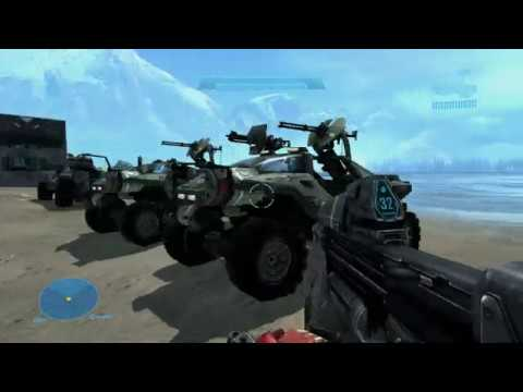 Halo Reach MCC Mods: 8-passenger warthog, troophog w/ functioning rear seats, plus more