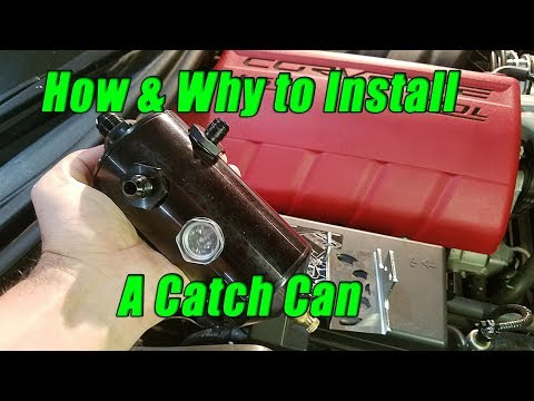 How to install an oil catch can and why it's important using Mighty Mouse Catch Can