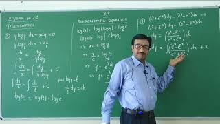 II PUC   Mathematics   Differential equations- 03