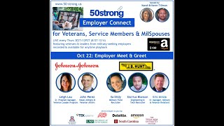 10.22 50strong EmployerConnect:  Johnson & Johnson and J.B. Hunt