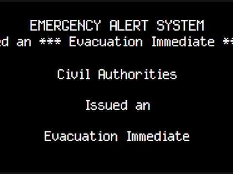 Evacuation Immediate/Shelter In Place Warning: Massachusetts