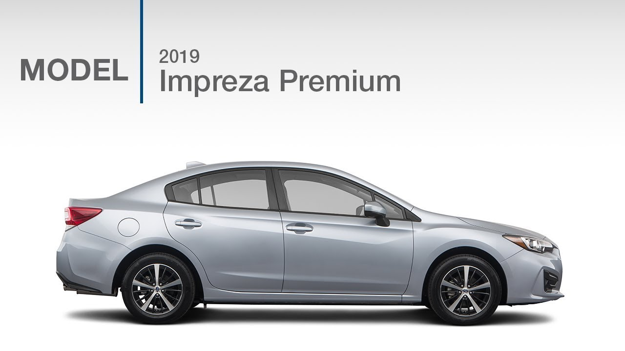 2019 Subaru Impreza Premium Model Review Youtube