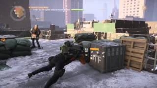 The Division - Rooftop Comm Relay: Free & Protect JTF Engineer Patch Antenna