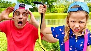 나스티아와 아빠 ,아이들을위한 재미있는 비디오 컬렉션