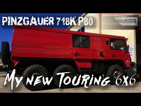 My new Ultimate Touring Vehicle | Pinzgauer 718K 6x6 | ALLOFFROAD