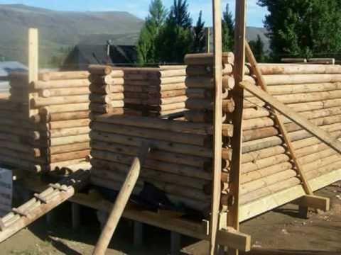 Master construcciones caba as de tronco youtube - Como hacer una cabana de madera ...