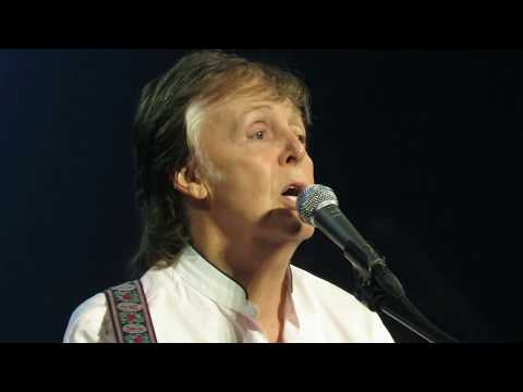 "Paul McCartney performs ""Yesterday"" live Detroit October 2, 2017"