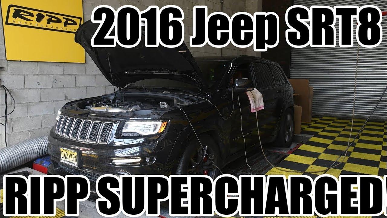 2016 jeep srt8 supercharged