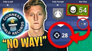 Tfue Drops WORLD RECORD 54 Kills in PC Squads on Fortnite! | Fortnite Best Moments #85