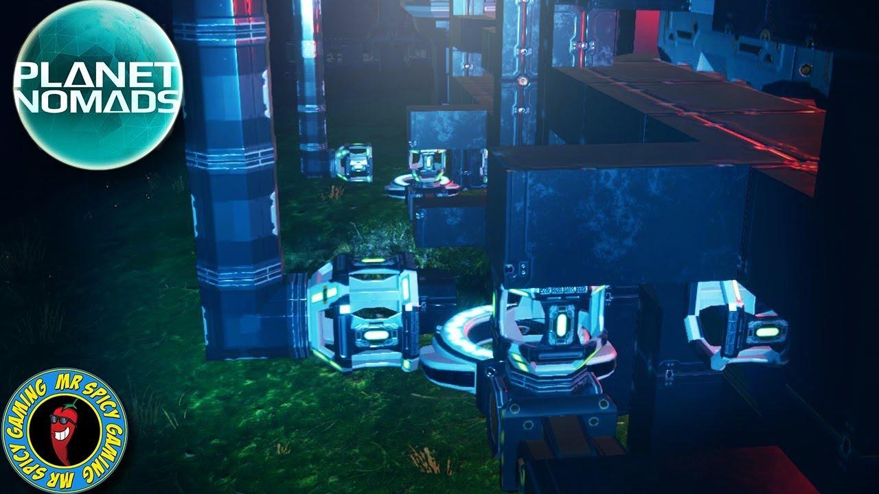 NOVA TRANSPORTADORA INTERRUPTA PARA DESEMPENHO - Planet Nomads Gameplay S2 Ep22 + vídeo