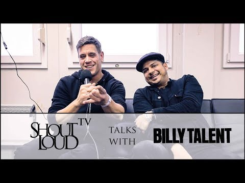 Billy Talent Interview: About Donald Trump, Afraid of Heights & more!